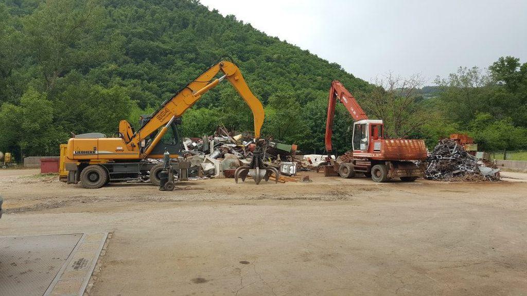 recupero ferro e riciclaggio